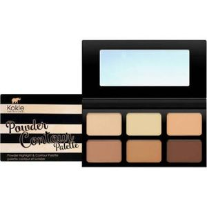 Kokie Powder Contour and Highlight Palette